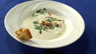 Thai Coconut Soup with Chicken